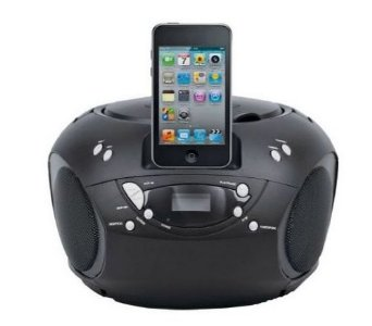 Bush Portable Cd Player Boombox For Ipod Iphone Dock Docking